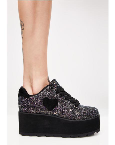 Lovesick Jester Lala Platform Sneakers