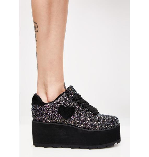 Y.R.U. Lovesick Jester Lala Platform Sneakers