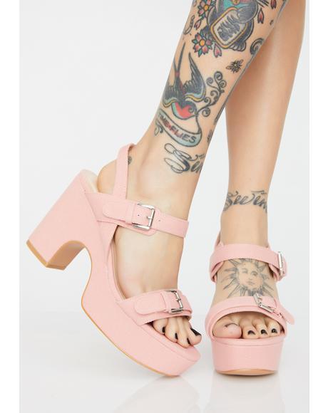 Play Date Platform Heels