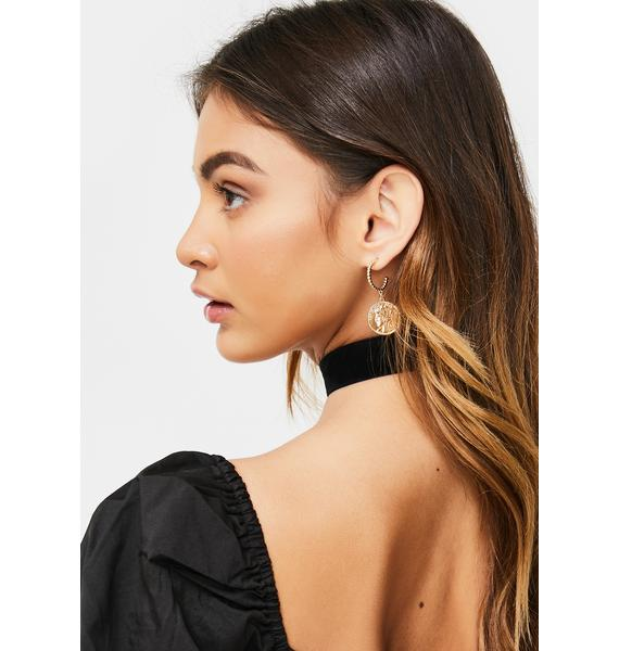 Secure The Booty Coin Earrings