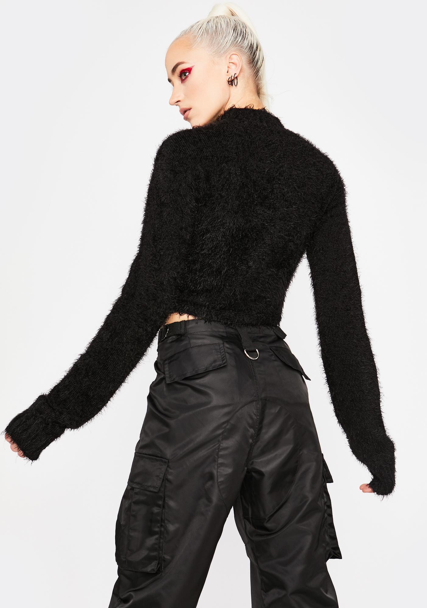 HOROSCOPEZ Major Element Fuzzy Sweater