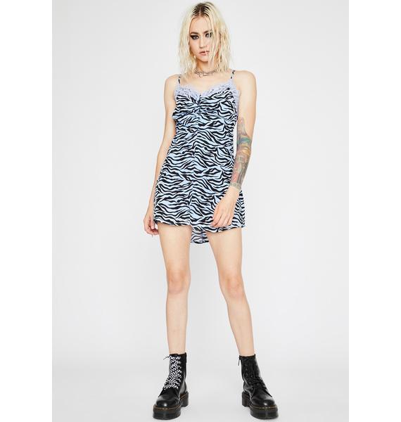 Sikk N' Animalistic Mini Dress