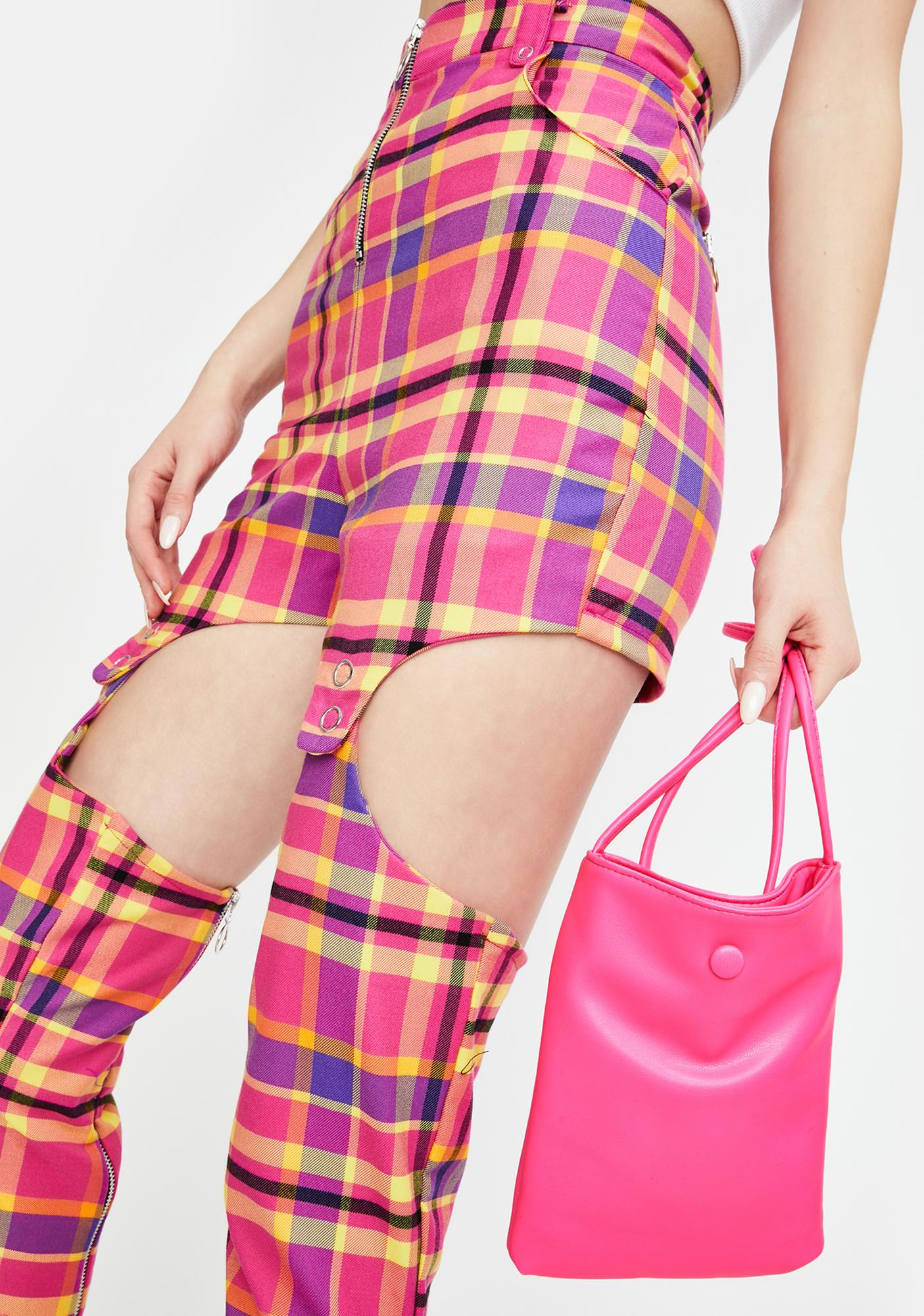 Baby Send It Neon Tote Bag
