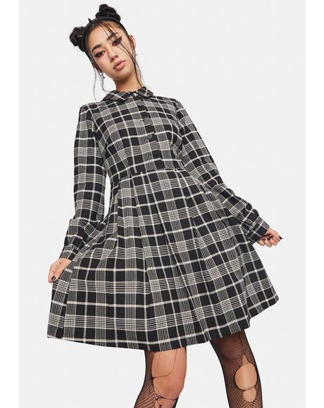 Double Trouble Plaid Dress