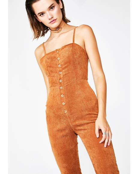 Expensive Taste Open Back Jumpsuit