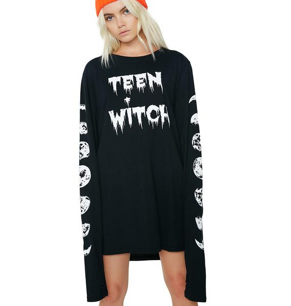 Dolls Kill Teen Witch Long Sleeve Tee