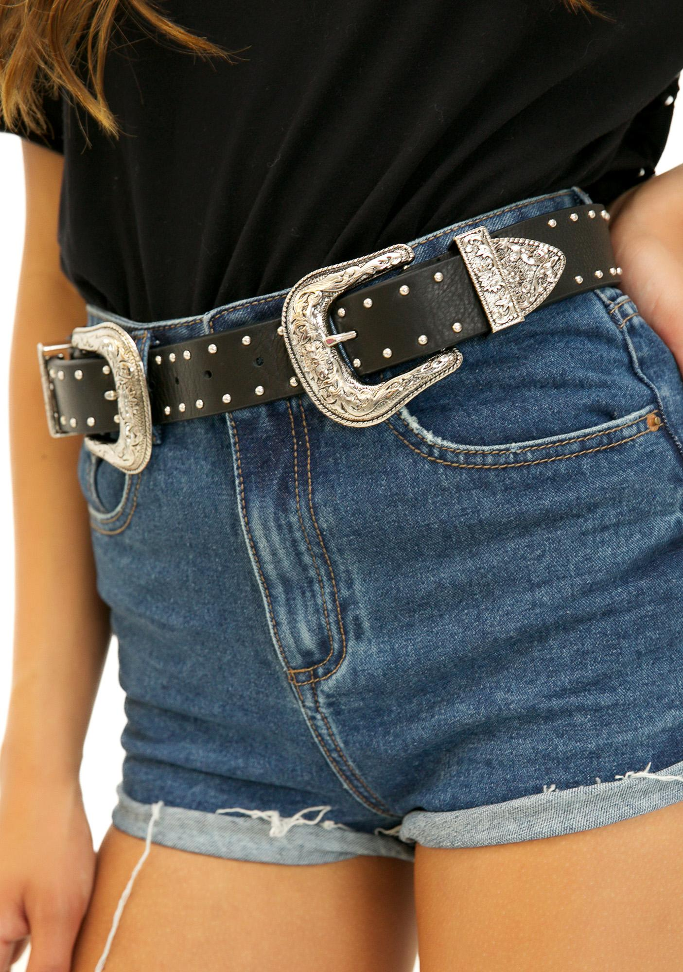 B-Low The Belt Studded Bri Bri Belt