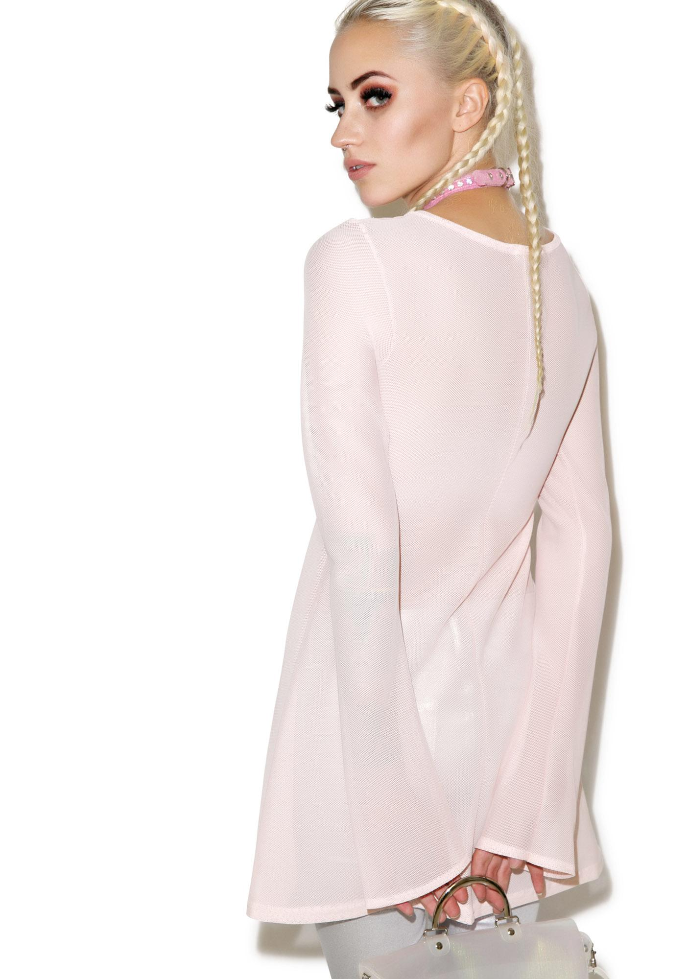 Mesh Getaway Dress Top