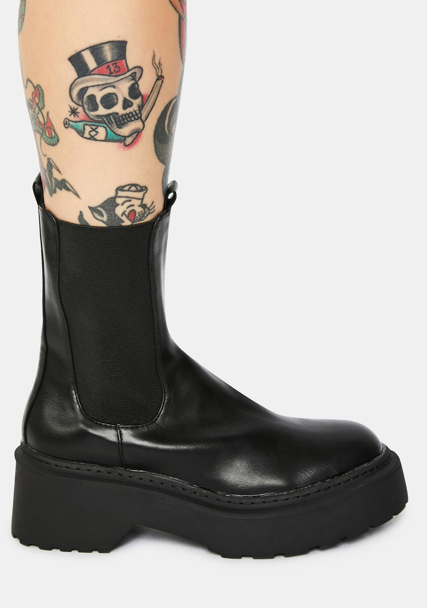 4TH & RECKLESS Edie Chelsea Boots