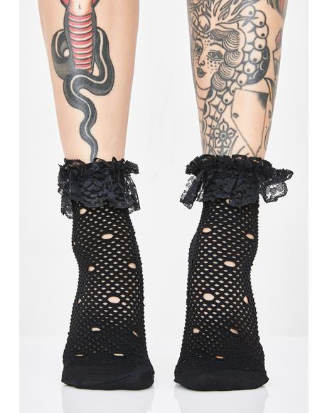 Fancy Fate Ruffle Socks