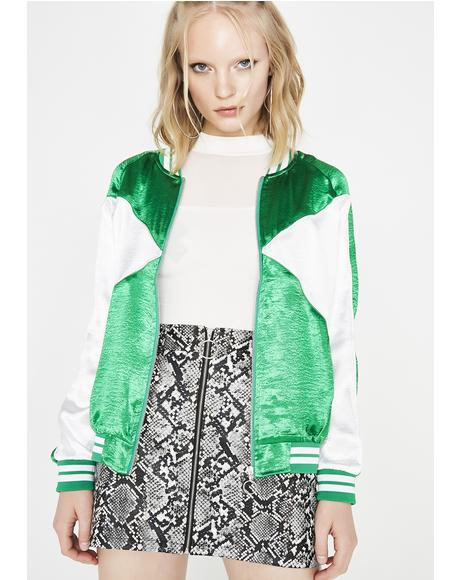 Fresh Swag Satin Jacket