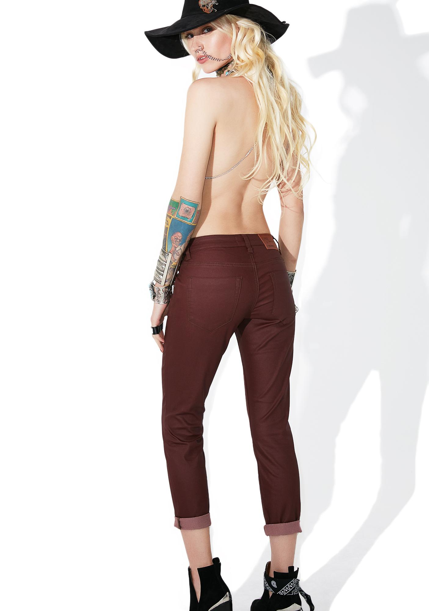 One Teaspoon Bordeaux Freebird Jeans