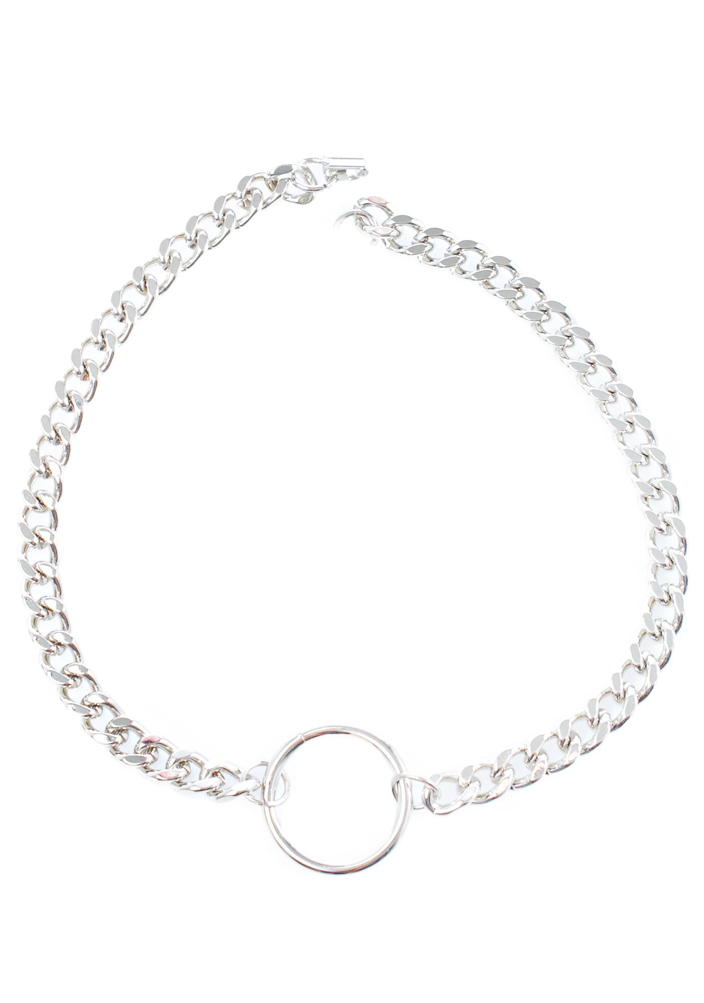 Club Exx Villain O-Ring Chain Necklace