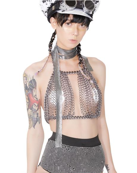 Ringleader Chain Halter Top