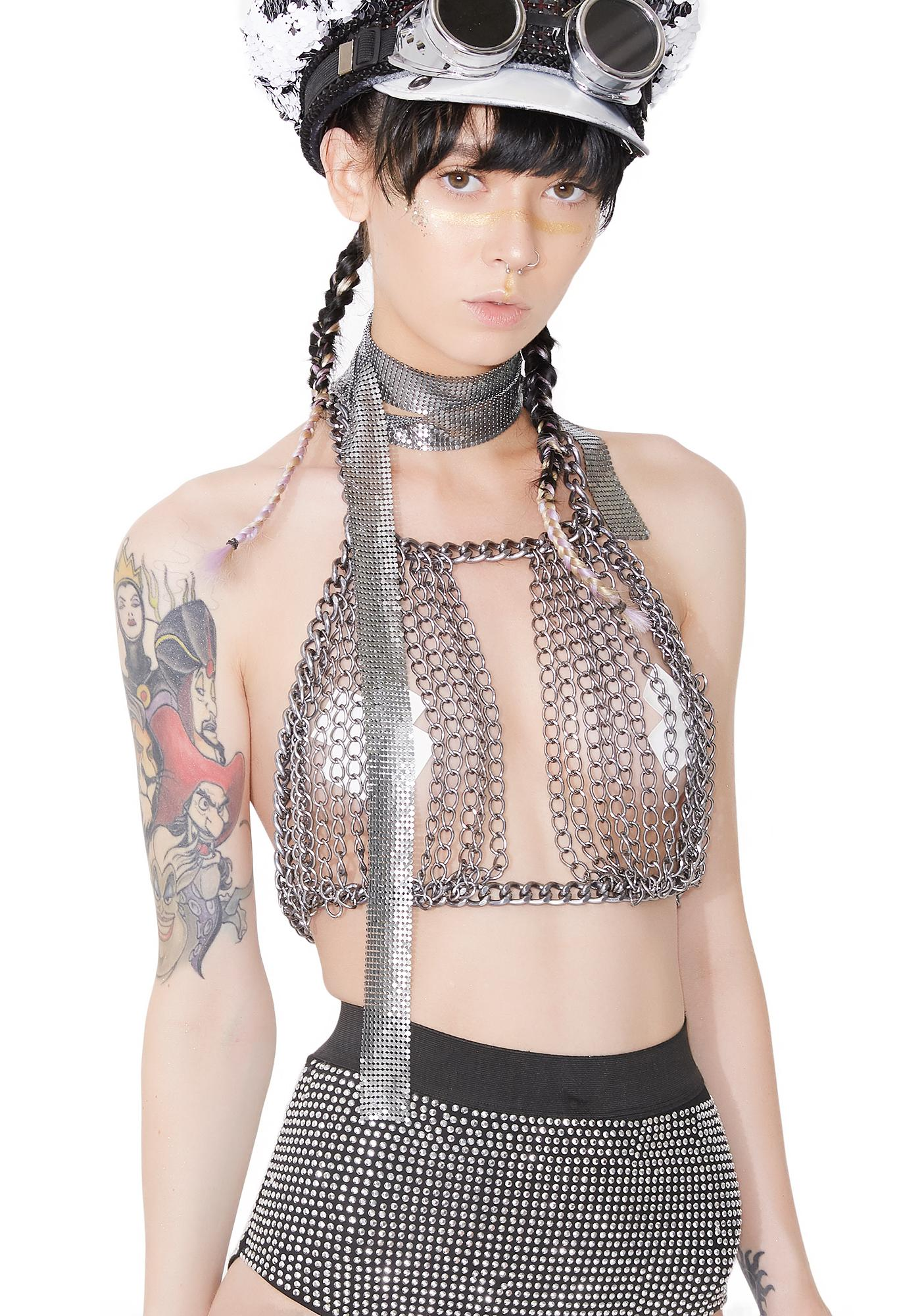 Ringleader Chain Halter Top