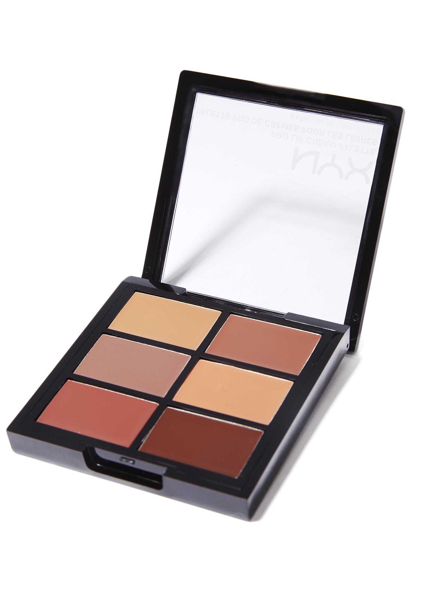 NYX The Nudes Pro Lip Cream Palette