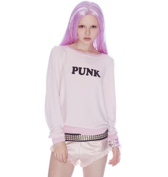 Wildfox Couture Punk Baggy Beach Jumper