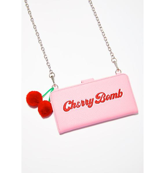 Valfré Cherry Bomb Crossbody IPhone Case