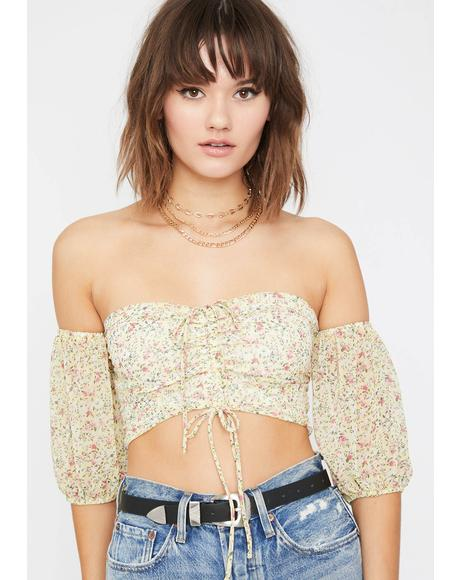 Floral Dream Crop Top