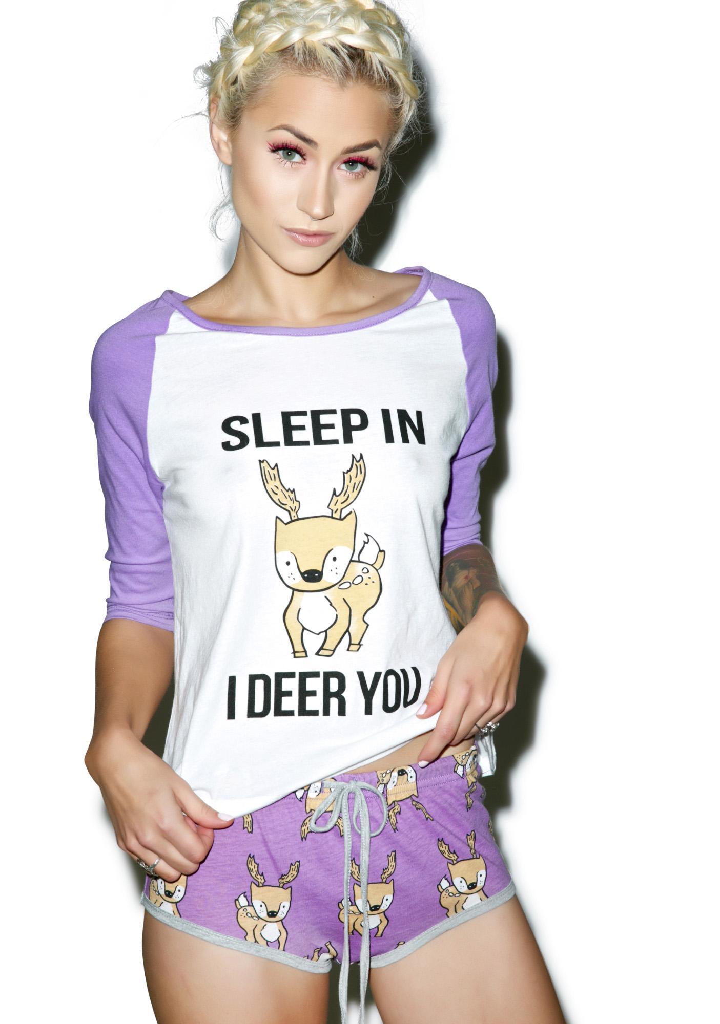 Mink Pink I Deer You Shorts