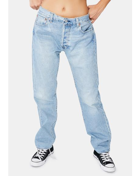 Basil Sand 501 Original Jeans