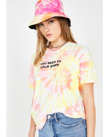 You Need To Calm Down Graphic Tee