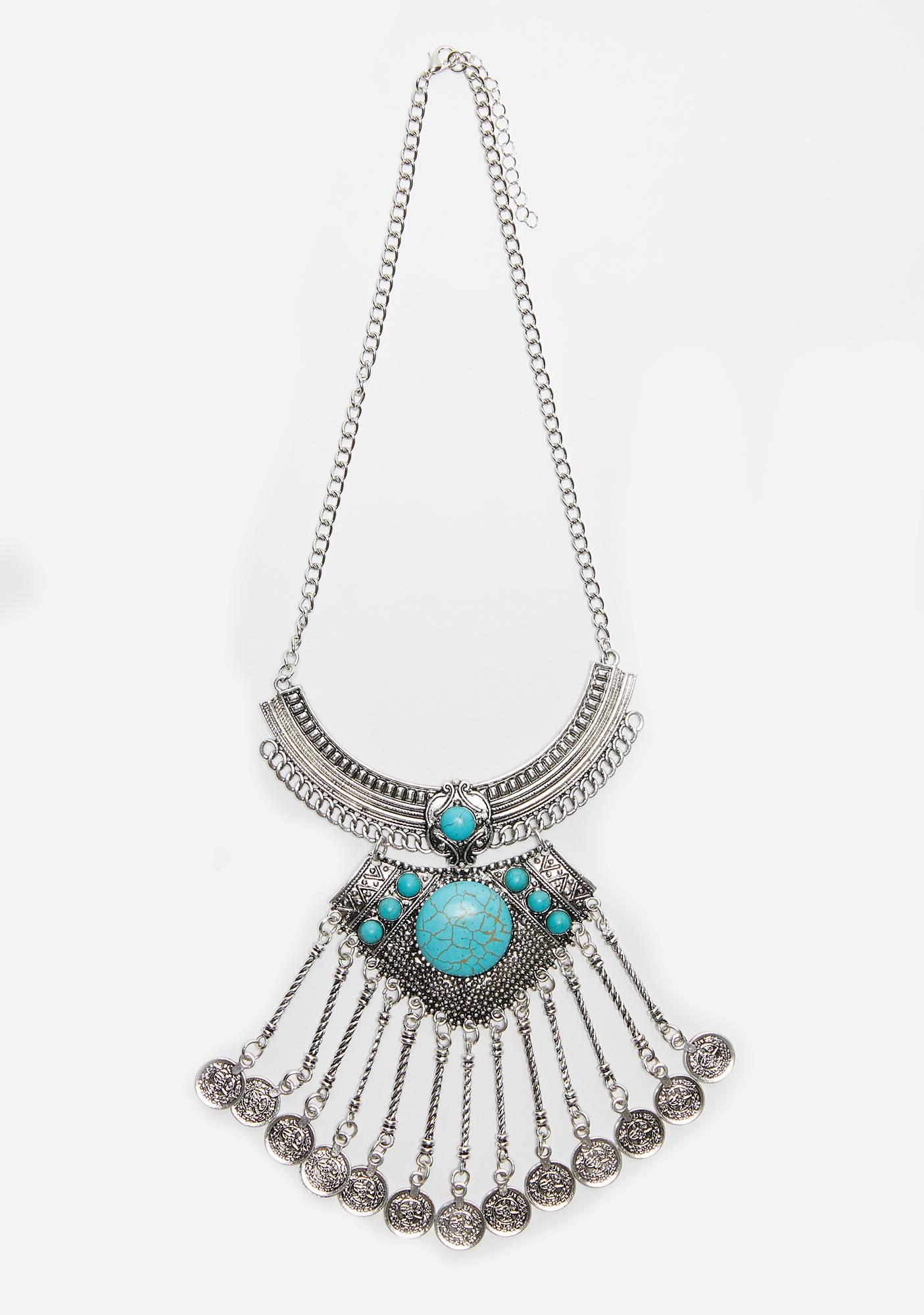 Old Tales Statement Necklace
