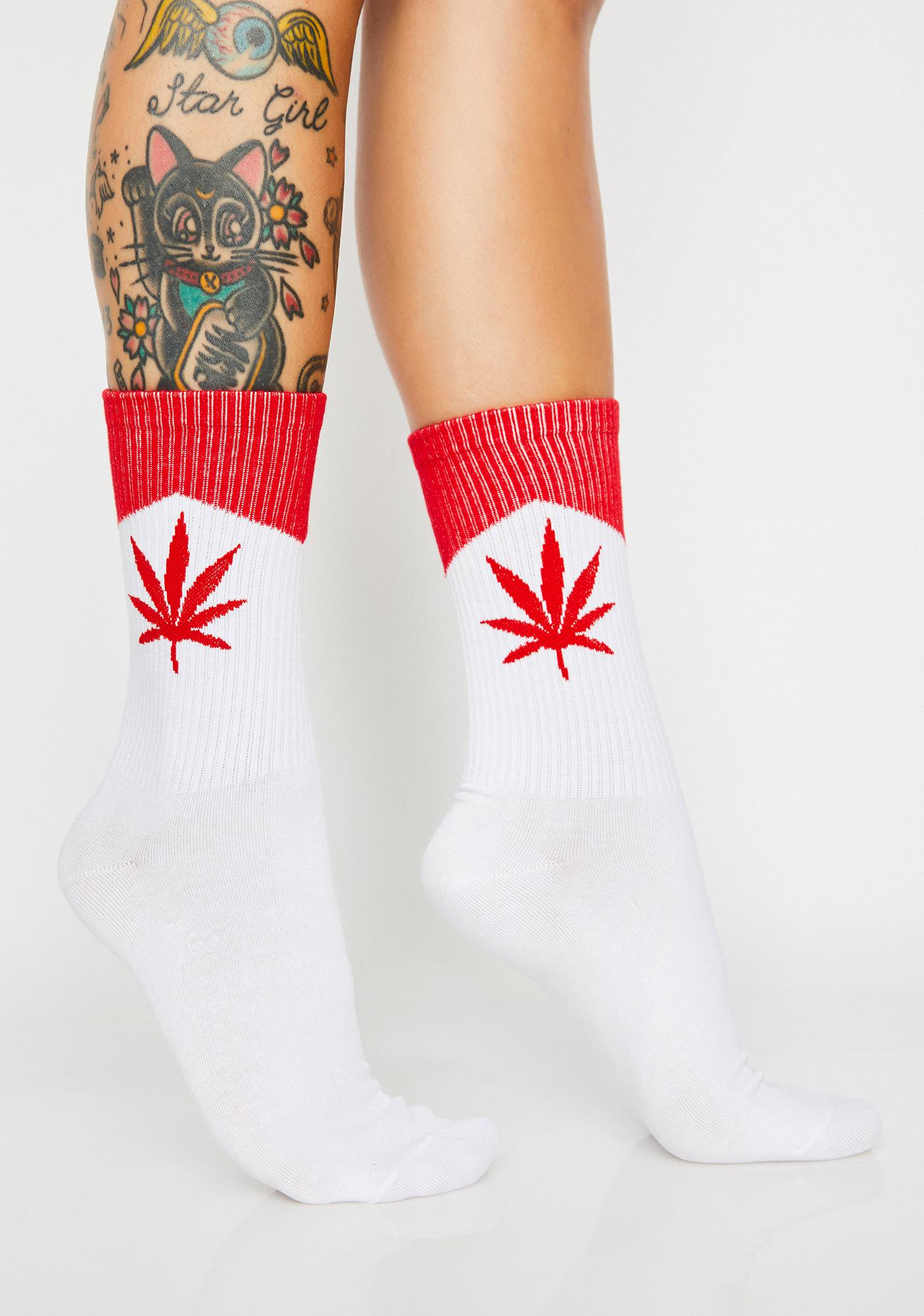 To Be Blunt Crew Socks