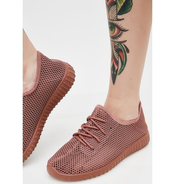 Keep It Up Mesh Sneakers