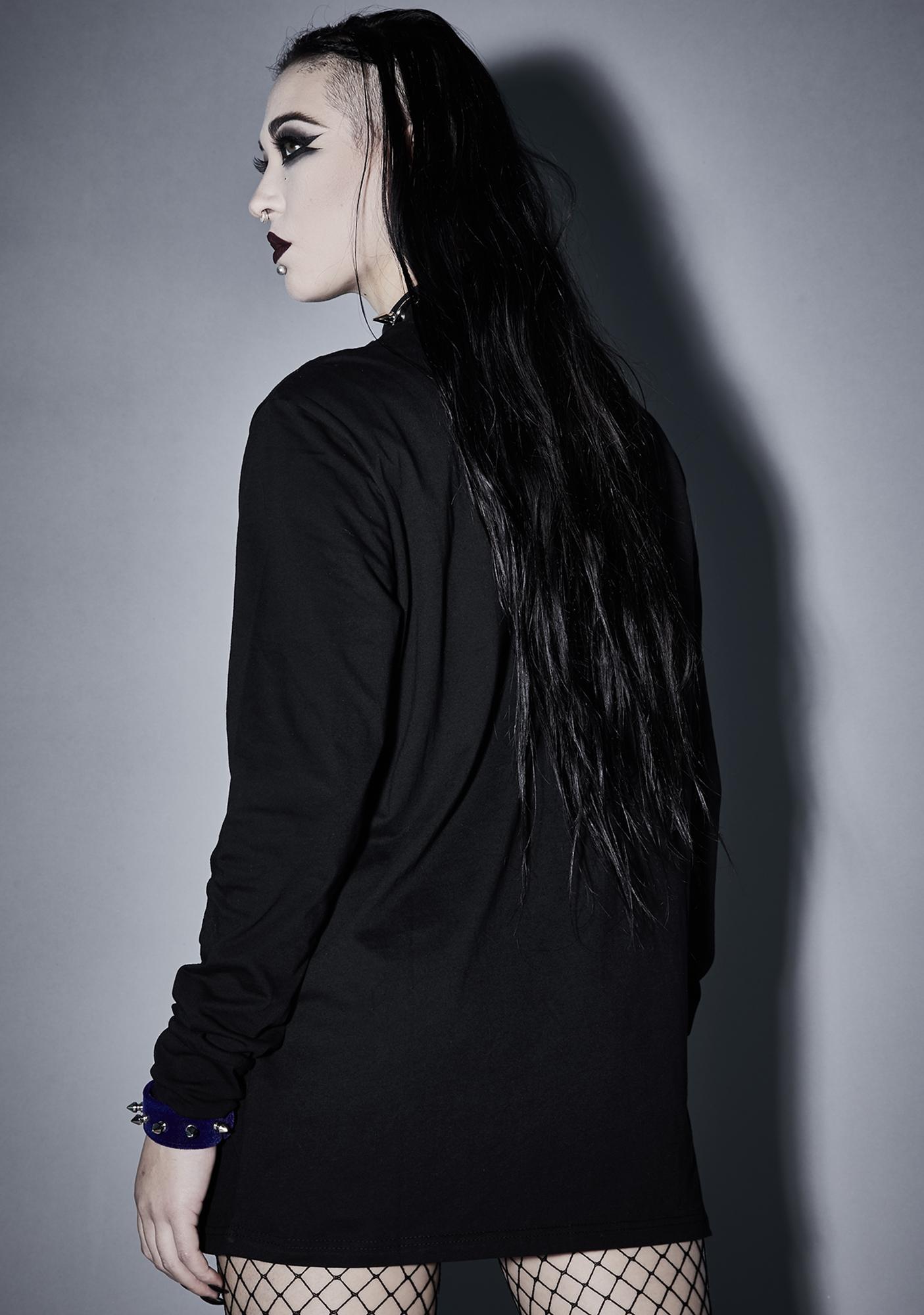 Widow Gloomy Mournings Long Sleeve Tee