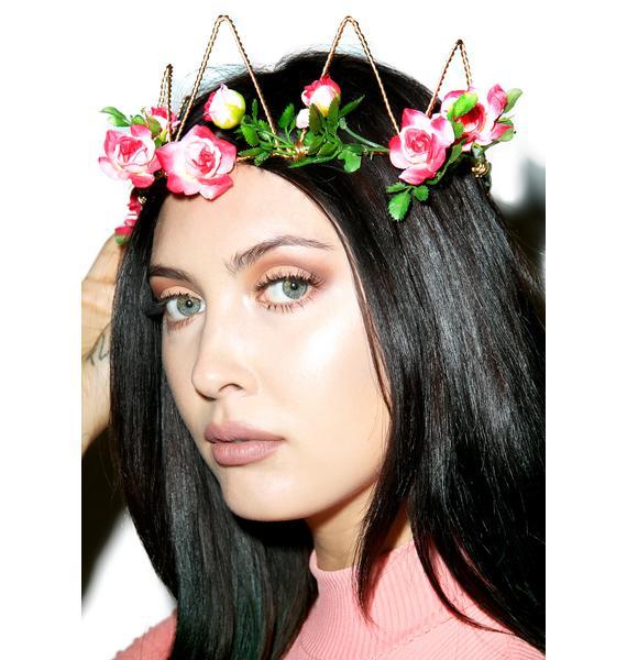 Vidakush Pink Flora Crown