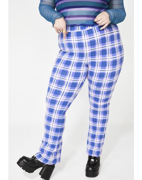 My Dear Diary Plaid Pants