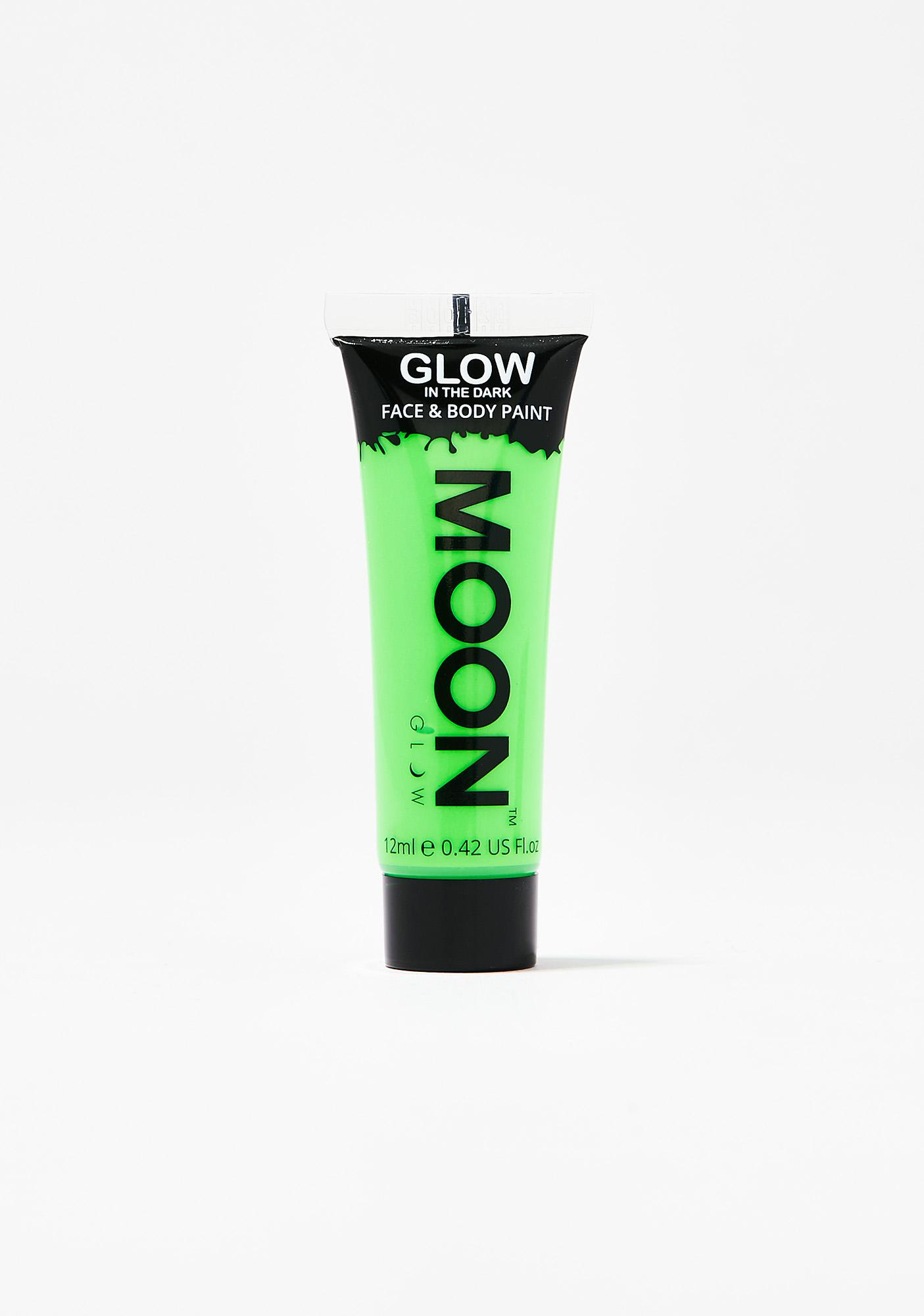Moon Creations Green Glow In The Dark Face N' Body Paint