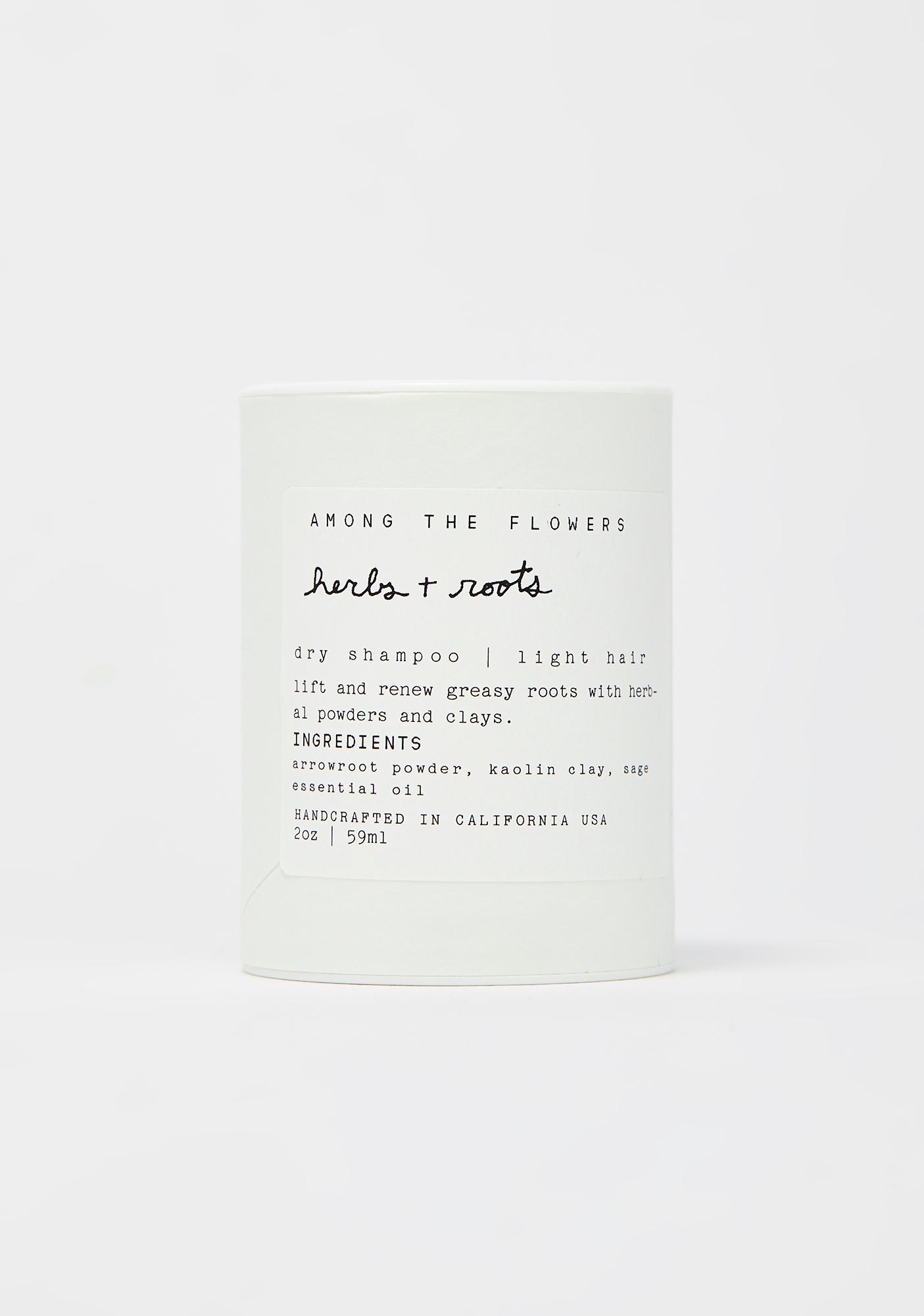 Among The Flowers Light Hair Herbs And Roots Dry Shampoo