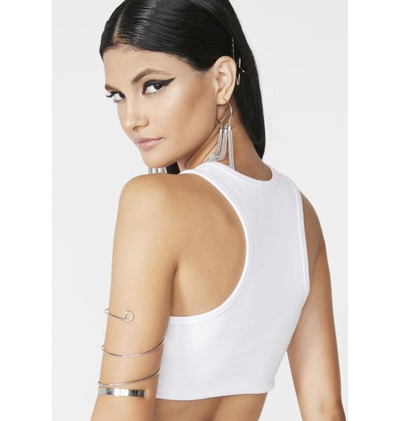 Club Exx Highway To Hell Crop Tank
