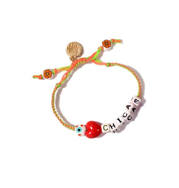 Venessa Arizaga I Love Chicas Bracelet