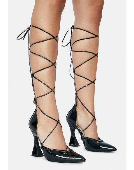 Sway Lace Up Heels
