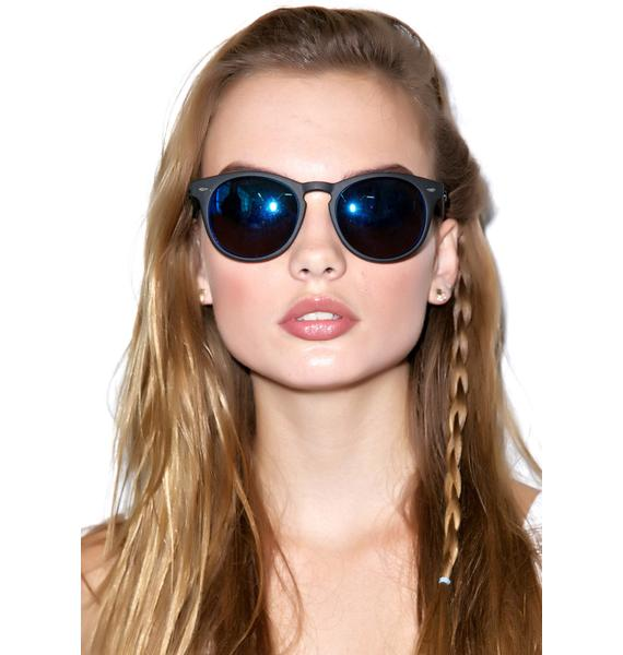 Quay Eyeware Andy Black Sunglasses