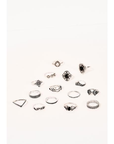 Stories To Tell 15 Piece Ring Set