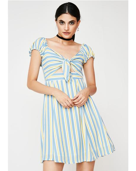 Take Me Away Stripe Dress