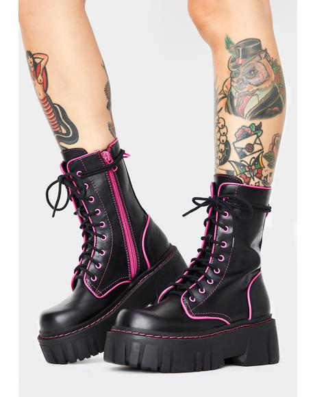 Licensed Trailblazer Combat Boots