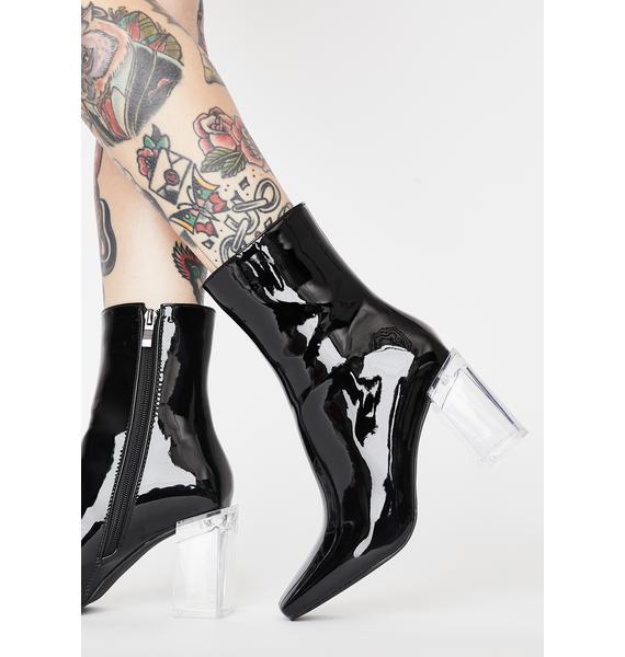 AZALEA WANG Plague Patent Boots