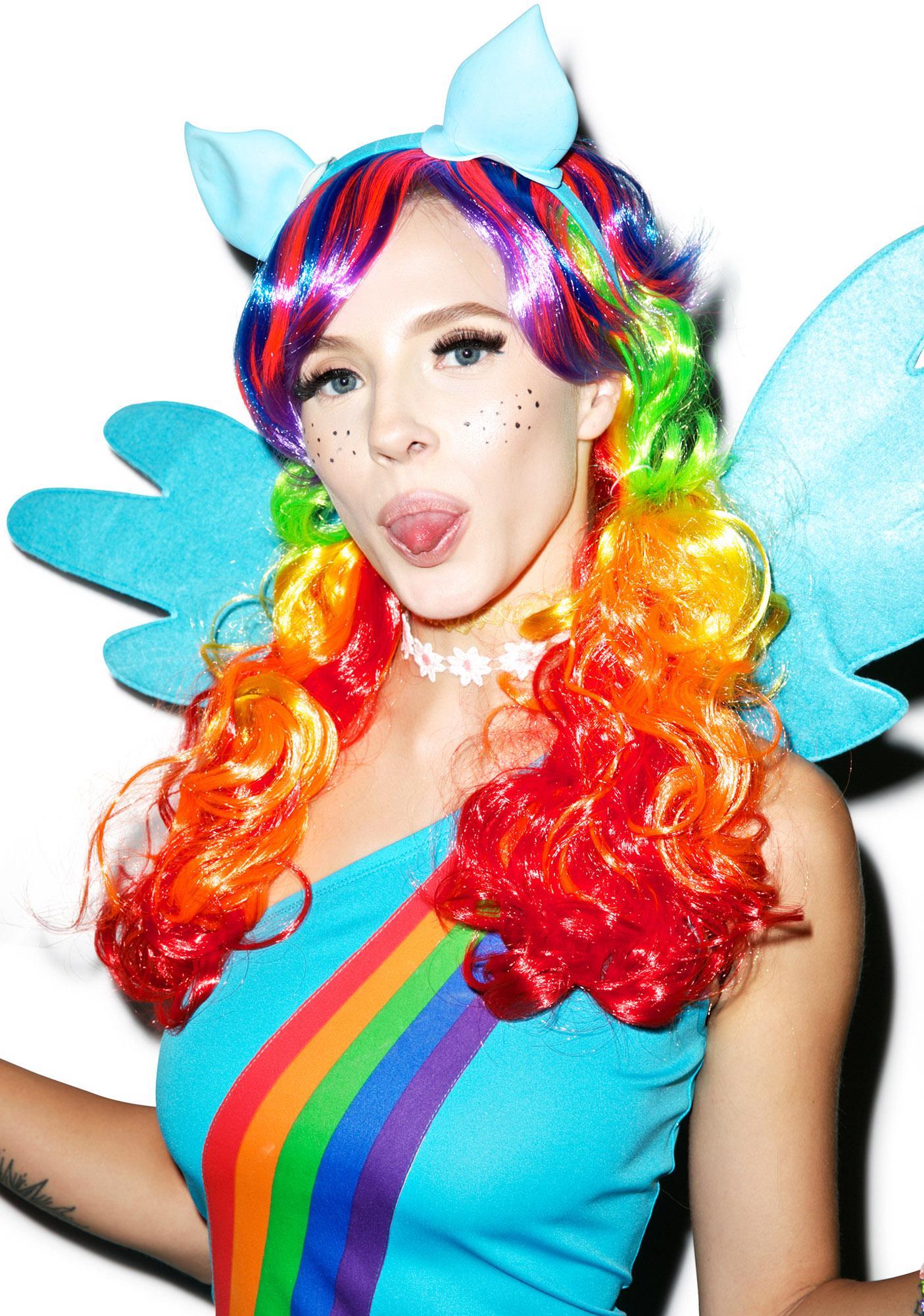 Rainbow Dash Costume Set