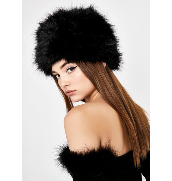 Frozen Assets Fur Hat