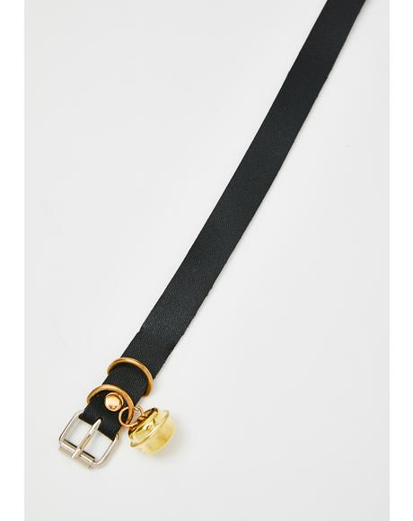 Sinful Ring My Bell Belt Choker