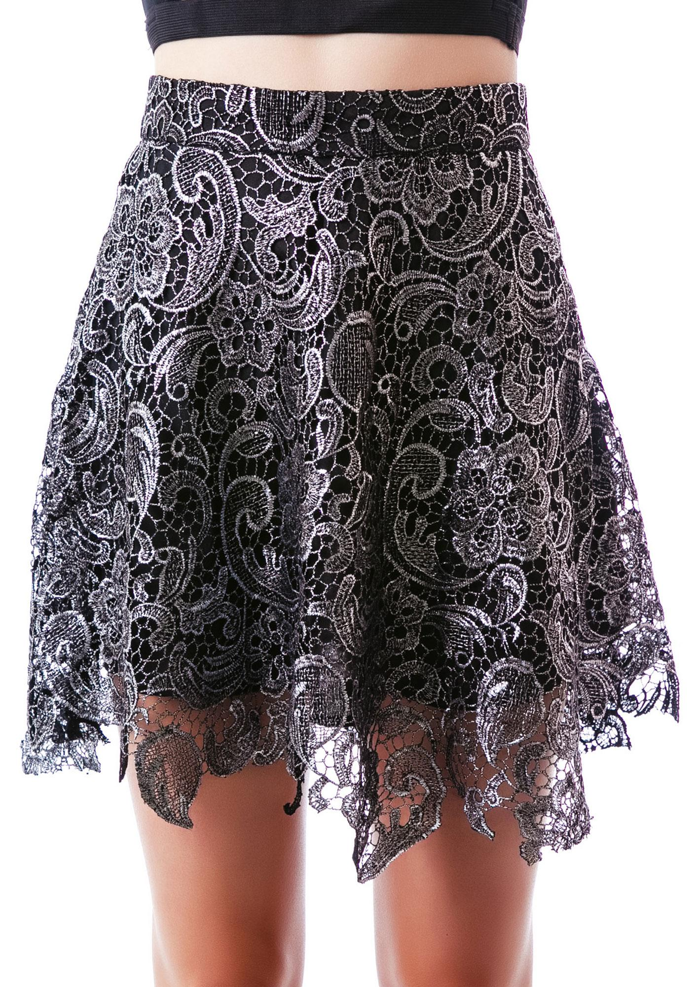 Lovelace Skirt