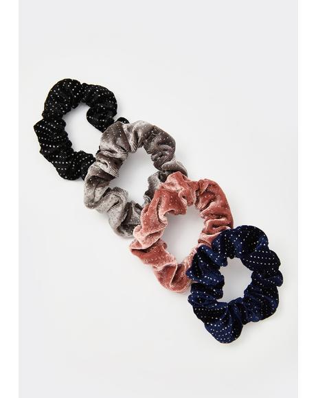 Sparkle More Scrunchie Set