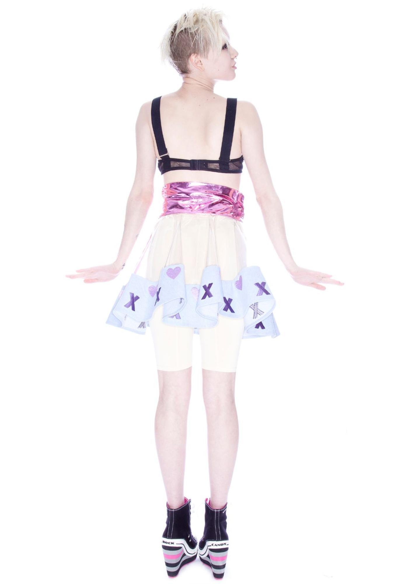 Love x Love PVC Clear Skirt