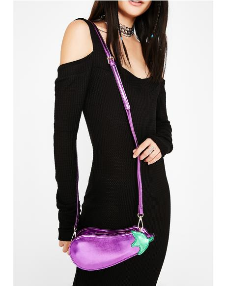 Eggplant Crossbody Bag