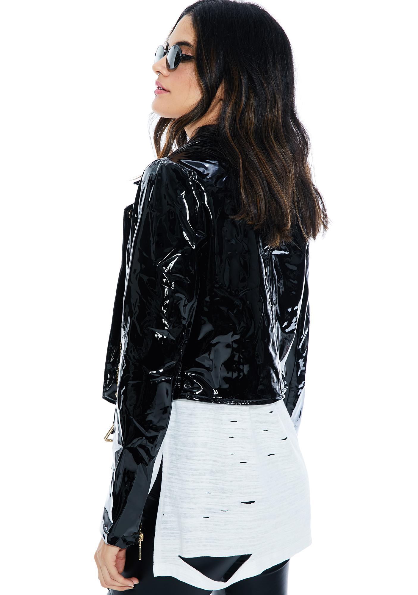 Cruisin' Vinyl Moto Jacket